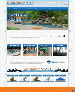 Norberto pools website