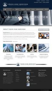 Vision Risk Services website