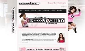 Knockout obestiry website design
