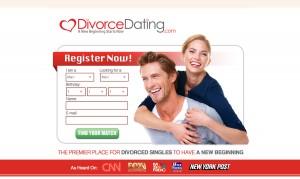 Divorce Dating landing page 1