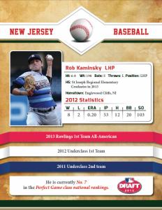 Rob Kaminsky booklet stats
