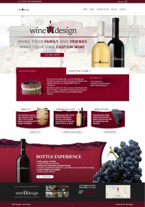 Wine u design website