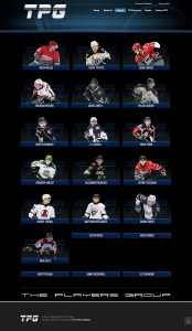 TPG Hockey Players Page