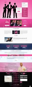 PinkTie 1000 Website