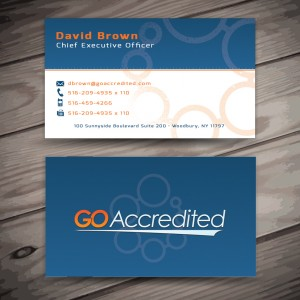 Go Accredited Business Cards
