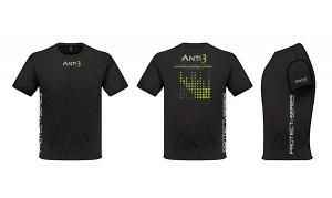 Anti3 T shirt Design Black