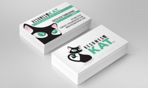 Resumes By Kat Business Cards