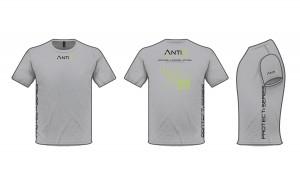 Anti3 T Shirt Gray