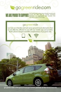 Go green ride poster 2