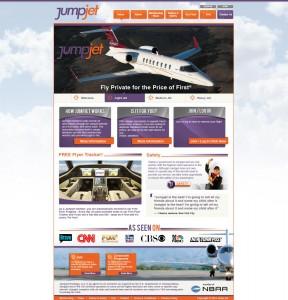 Jump Jet Website full