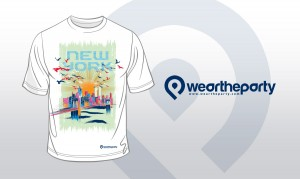 Wear The PArty NYC design