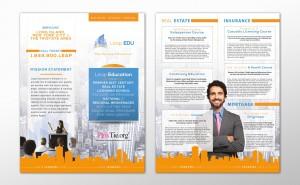 Leap EDU Brochure design