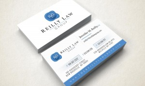 the reilly law group business cards