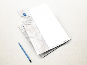 The reilly law group letterhead