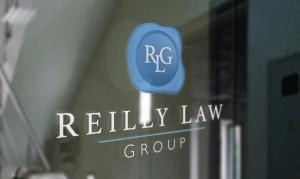 Reilly Law group window logo