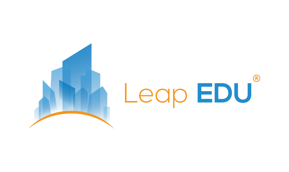 Leap Edu Logo Design
