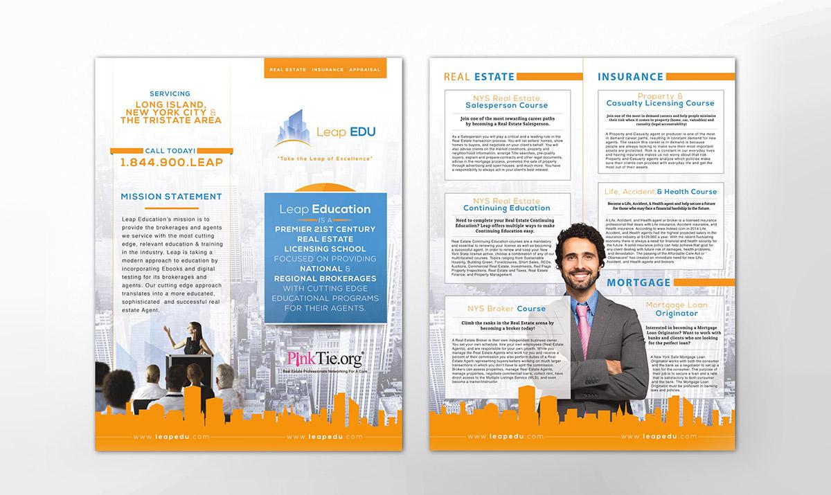 Lead EDU Brochure Design