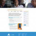 Leap Edu Courses page