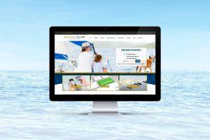 Gold Coast Bank website computer