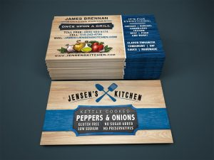 Jensens Kitchen Business Cards