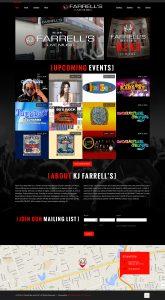 KJ Farrels Full Website