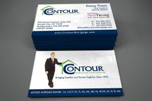 Contour Business cards