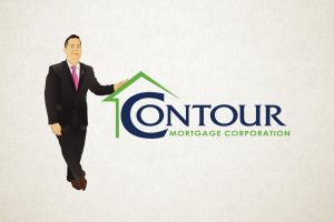 Contour Mortgage charecature