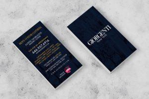 Giorgenti business card design