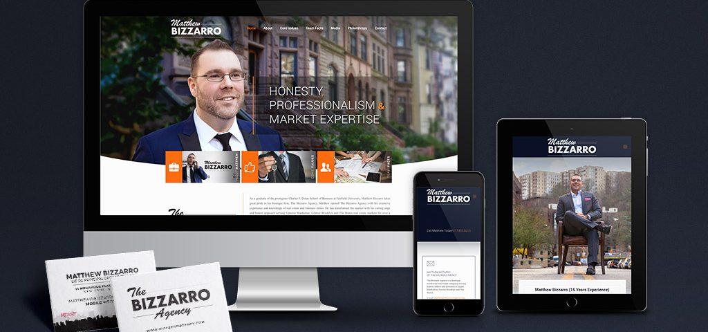 Matthew Bizzaro website computer