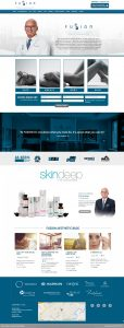 Fuzion Medical Website design