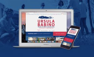 Ursula Babino website computer