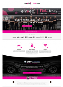 Givngo Website Layout Portfolio Item