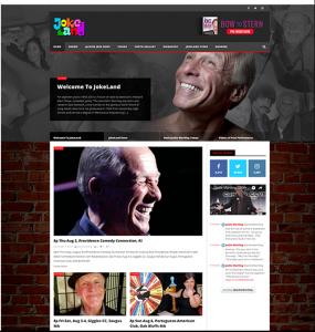 Joke Land Image Portfolio Homepage