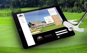 CEO Golf Portfolio Image Of Website