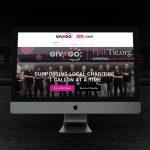 GivNGo Website on computer