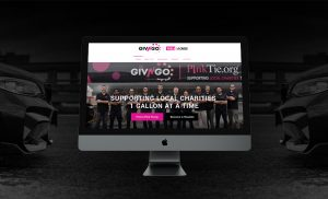 GivNGo Website on computer