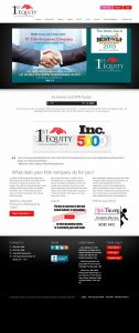 TiedIn Media 1st equity full website old