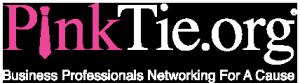 TiedIn Media pinktie logo