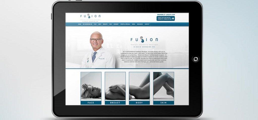 TiedIn Media Portfolio Featured Image fuzion medical