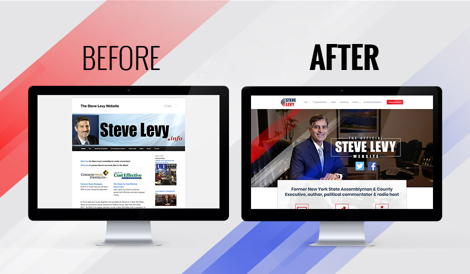 Steve Levy before and after