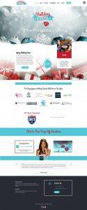 TiedIn Media holiday dreams full website