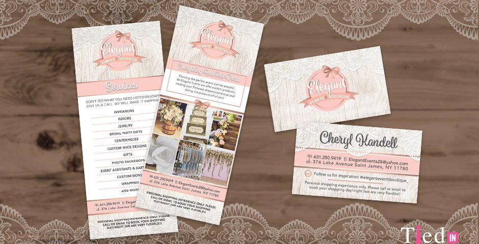 Elegant Events Print Marketing