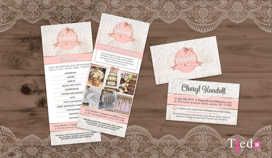 Elegant Events Print Marketing