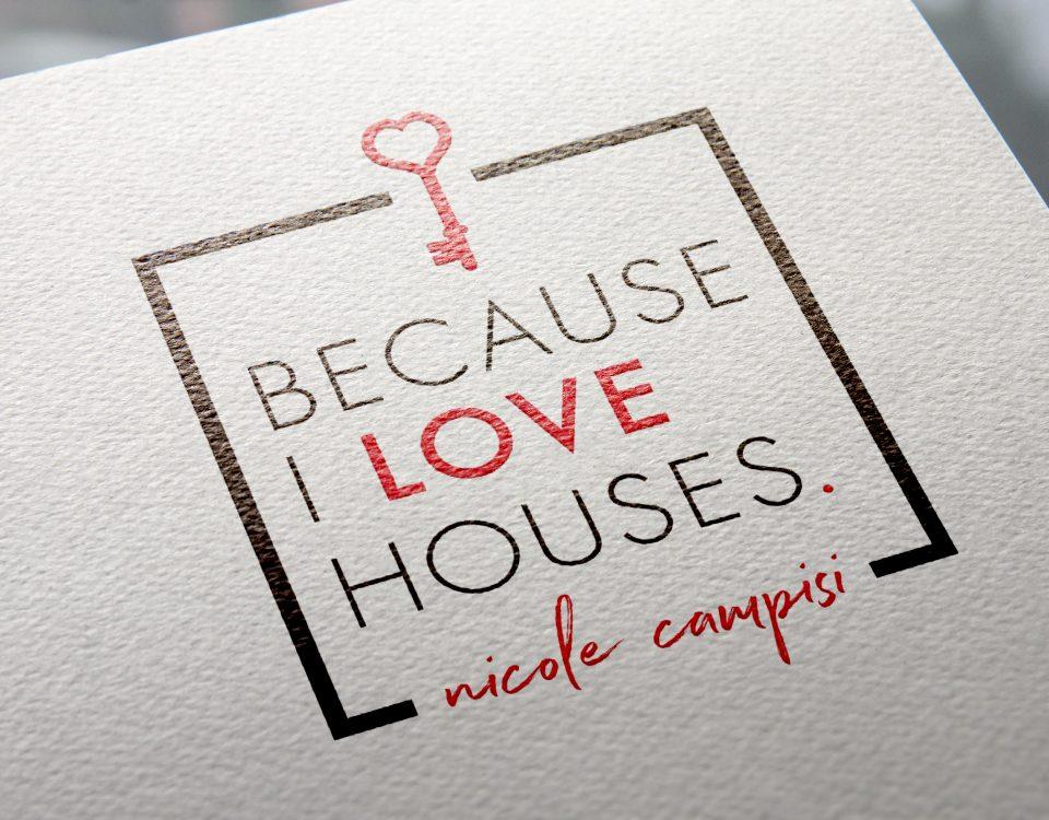 Because I love houses logo