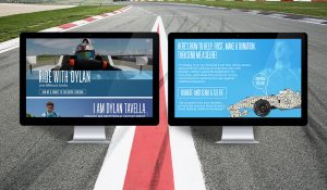 Ride With Dylan website design