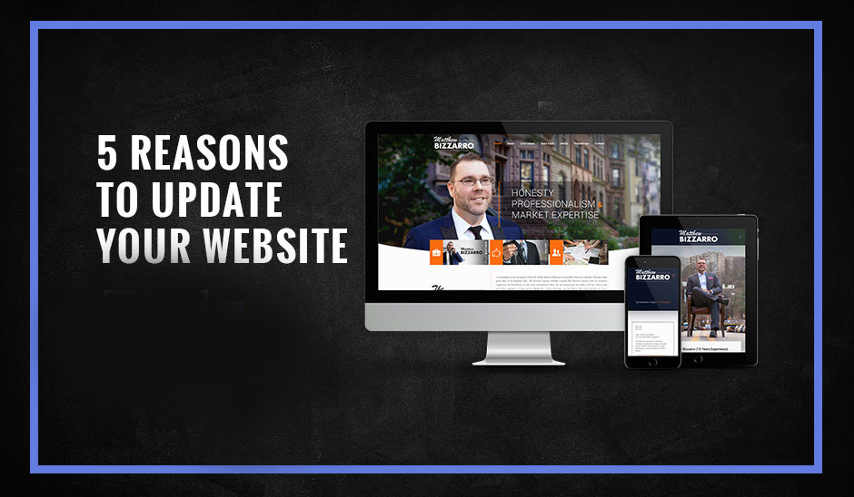 5 Reasons to update your website