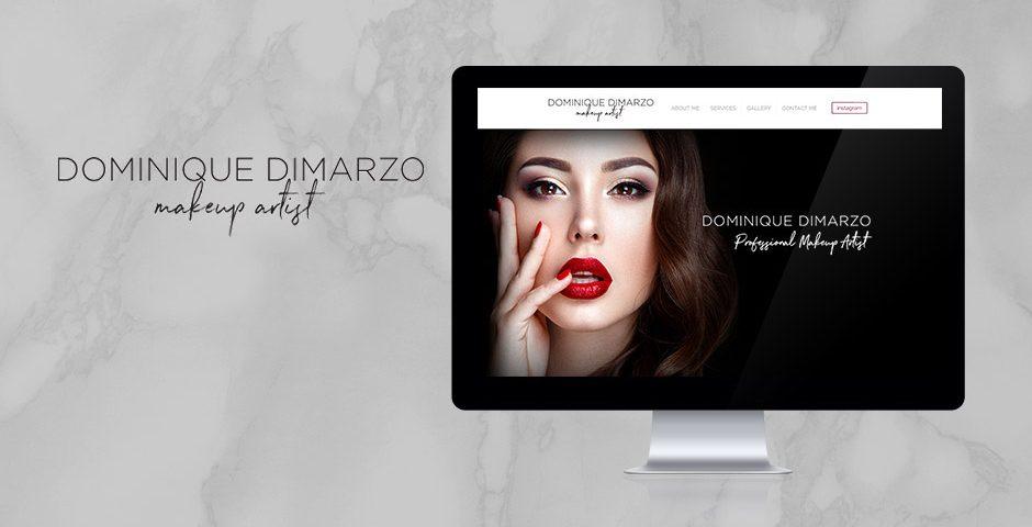Dominique Dimarzo Website design