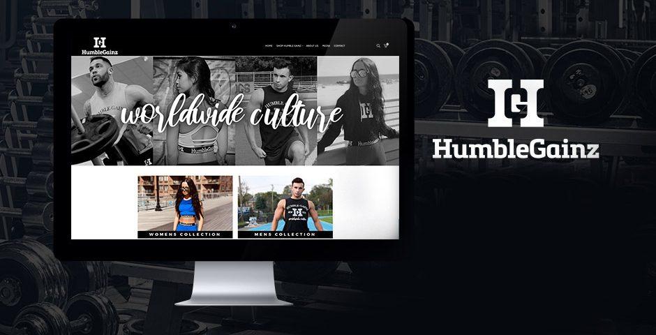 Humble Gainz Website post