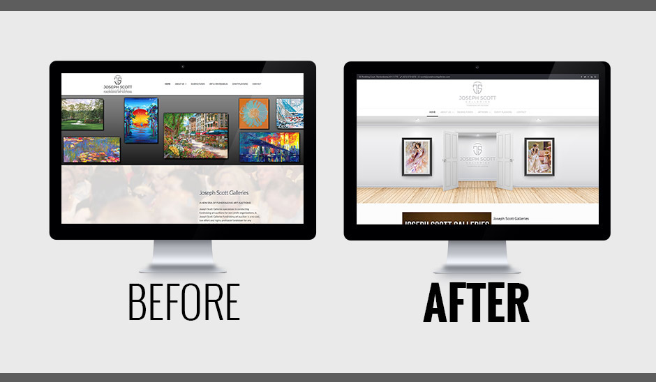 Joseph Scott Galleries Before and after