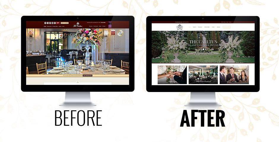 The Carltun Website Re Design